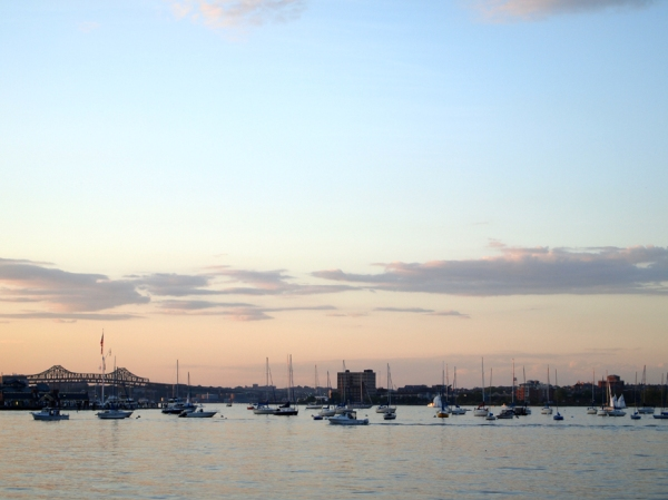 Harbor at Dusk